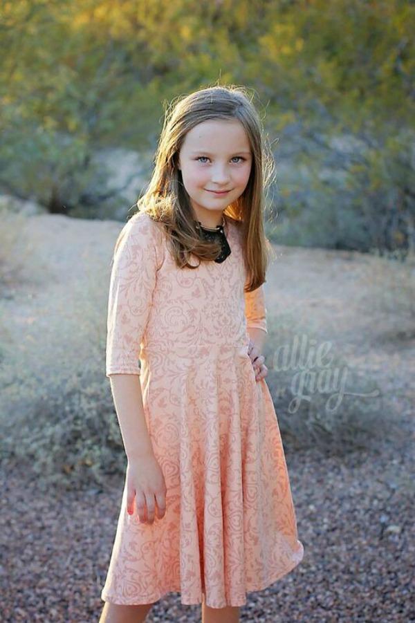 Kimber's Circle Dress Sizes NB to 15/16 Kids and Dolls PDF Pattern