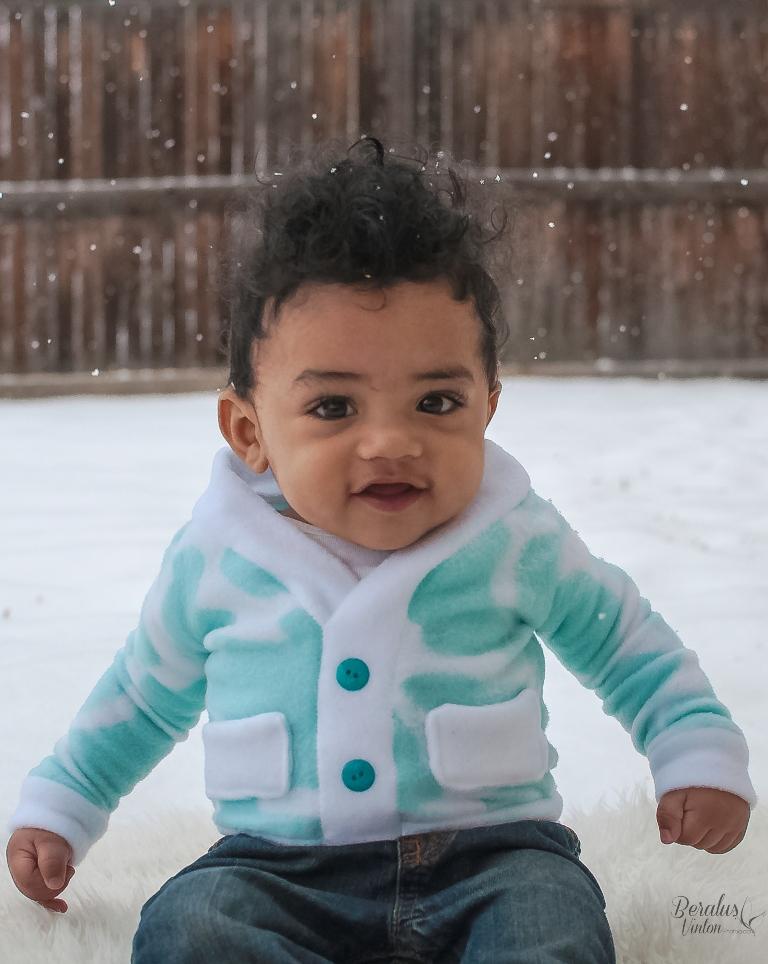 Elijah's Baby Cardigan PDF Pattern