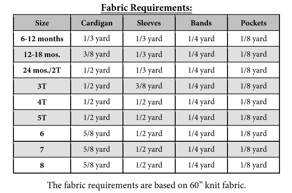Elijah's Cardigan PDF Pattern