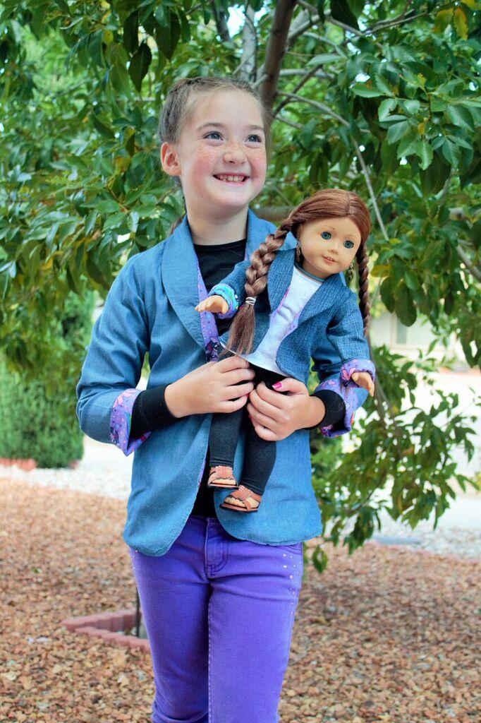 Roxie's Doll Fitted Blazer PDF Pattern