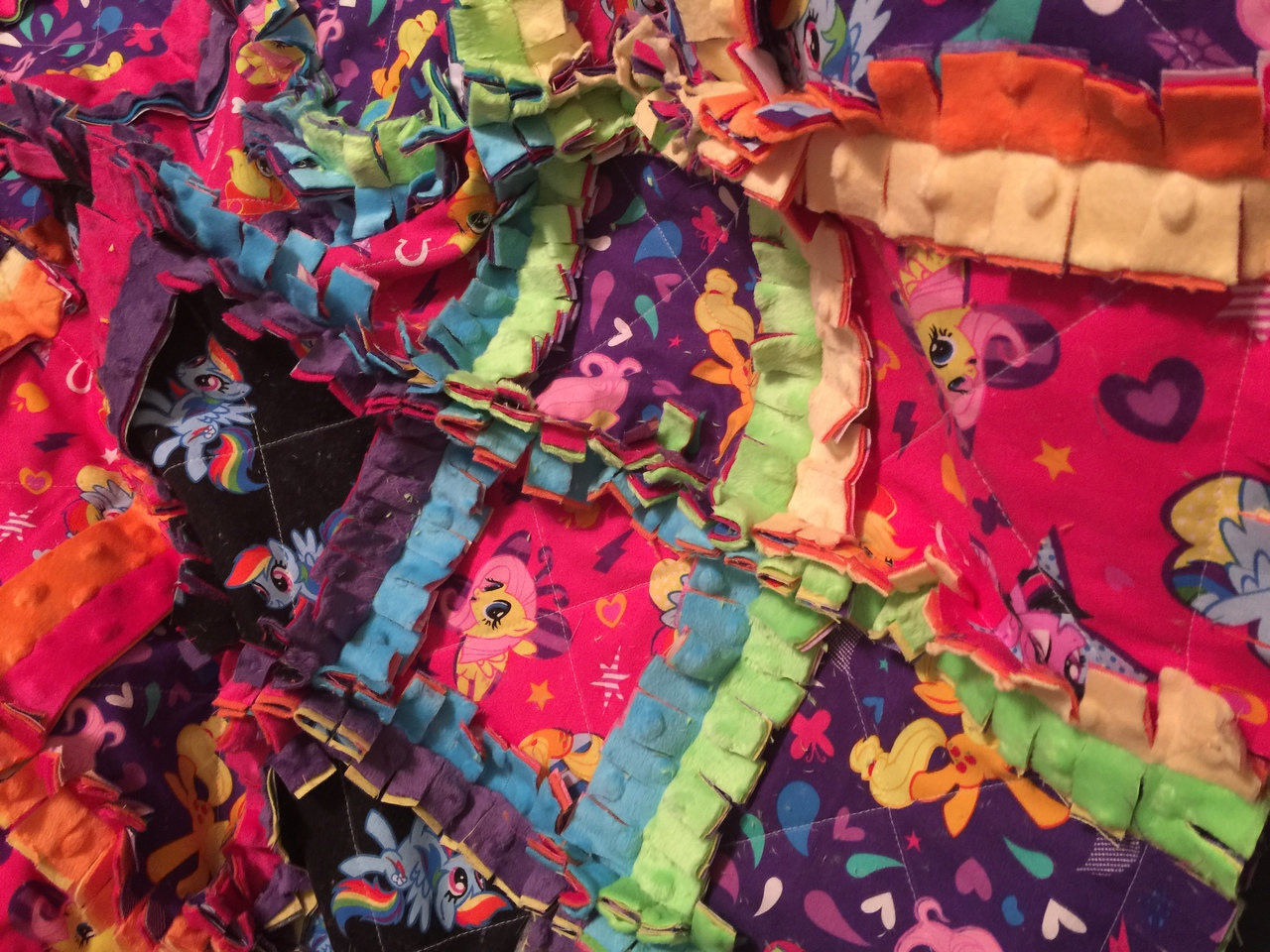 Kailee's Cozy Rag Quilt PDF Pattern