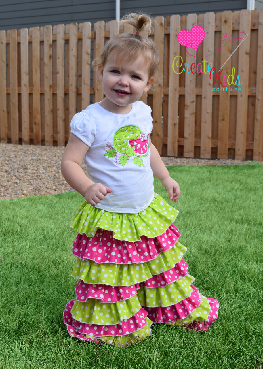 Kyree's Rumba Pants, Shorts, and Capris Sizes 2T to 8 Kids PDF Pattern