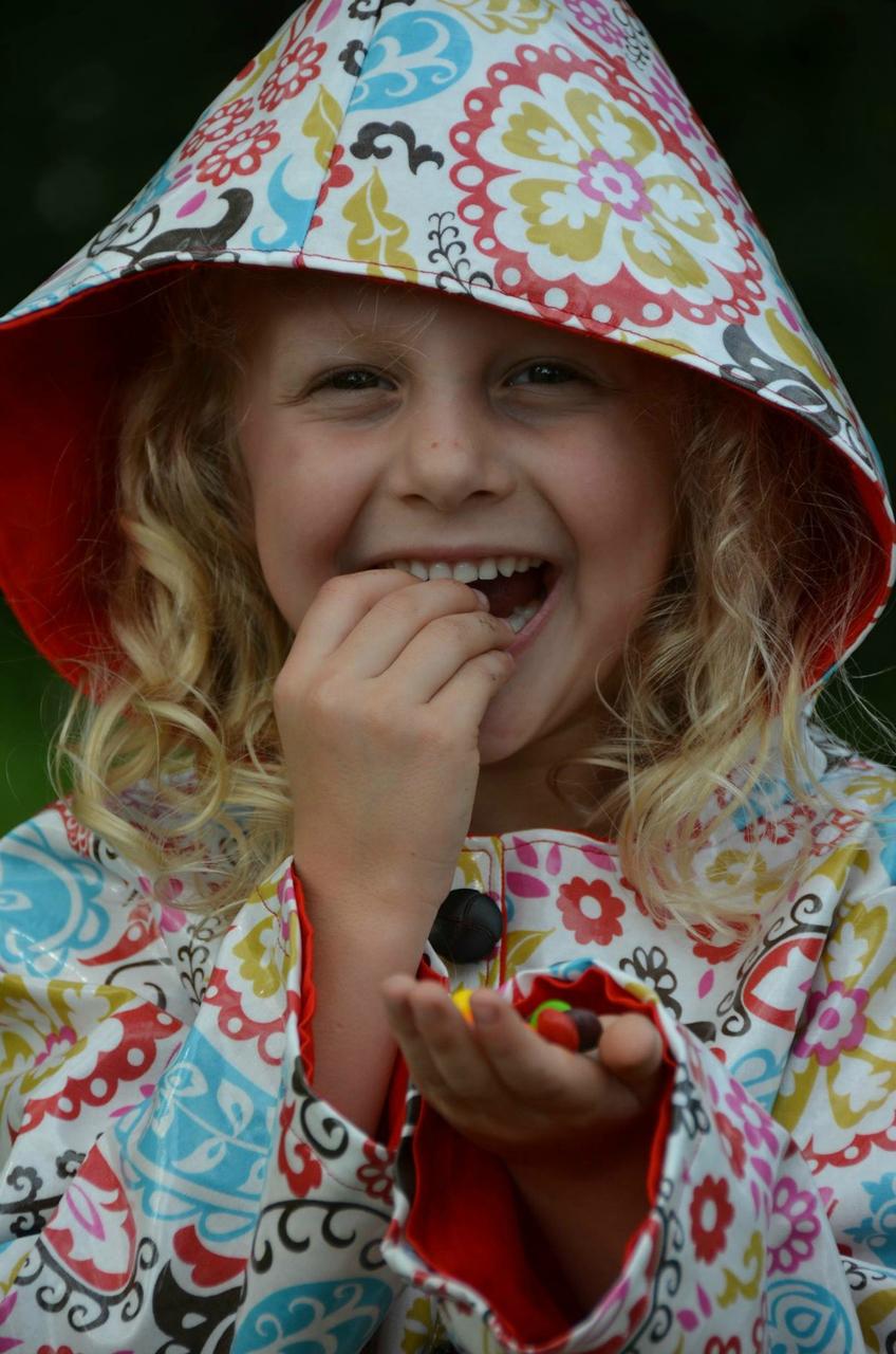 Rowen's Raincoat Sizes 6/12m to 15/16 Kids PDF Pattern