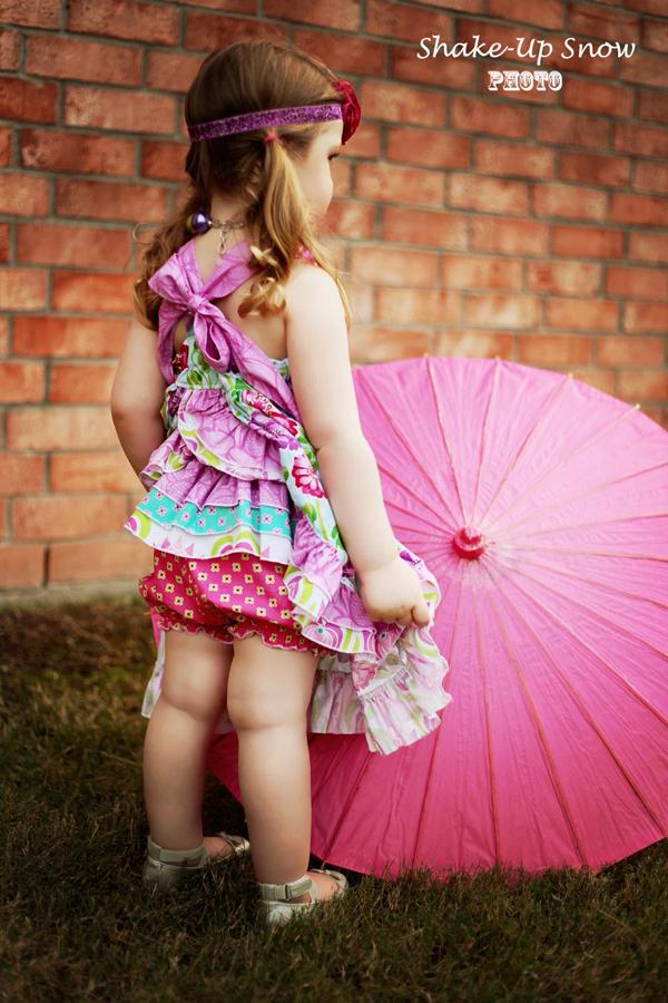 Emma's Ruffle Butt Bloomers NB to 6 Kids PDF Pattern