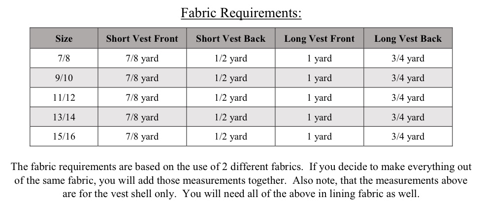 Bebe's Fitted Vest Sizes 6/12m to 15/16 Kids PDF Pattern