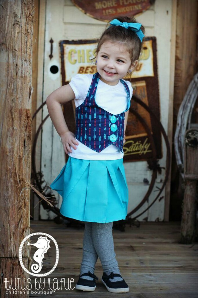 Bebe's Fitted Vest Sizes 6/12m to 15/16 Kids and Dolls PDF Pattern