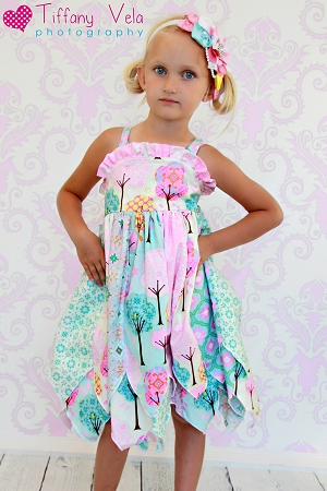 Fairy's Double Layer Princess Dress Sizes NB to 15/16 Kids and Dolls PDF Pattern