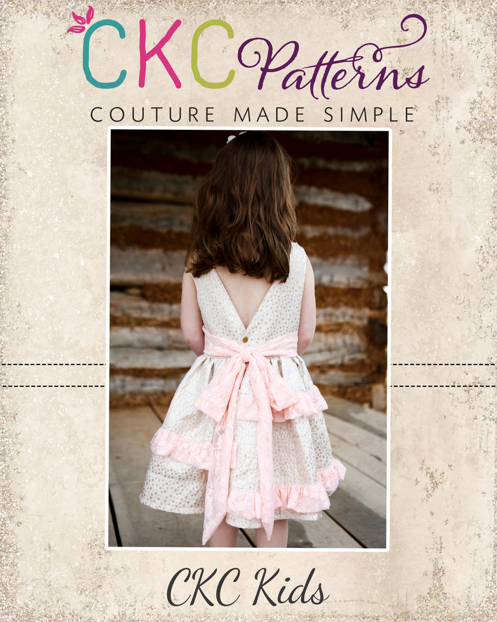 Blythe's Tiered Tunic, Dress, and Maxi Sizes 6/12m to 8 Kids PDF Pattern