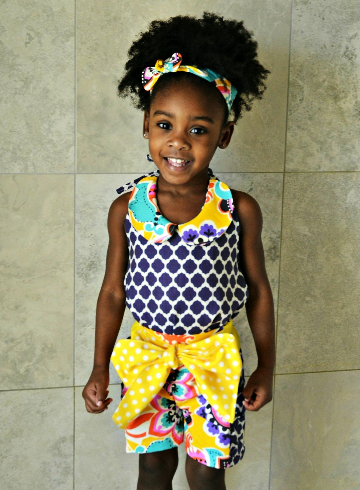 Rosalie's Ruched Shorts Sizes 6/12m to 8 Kids PDF Pattern