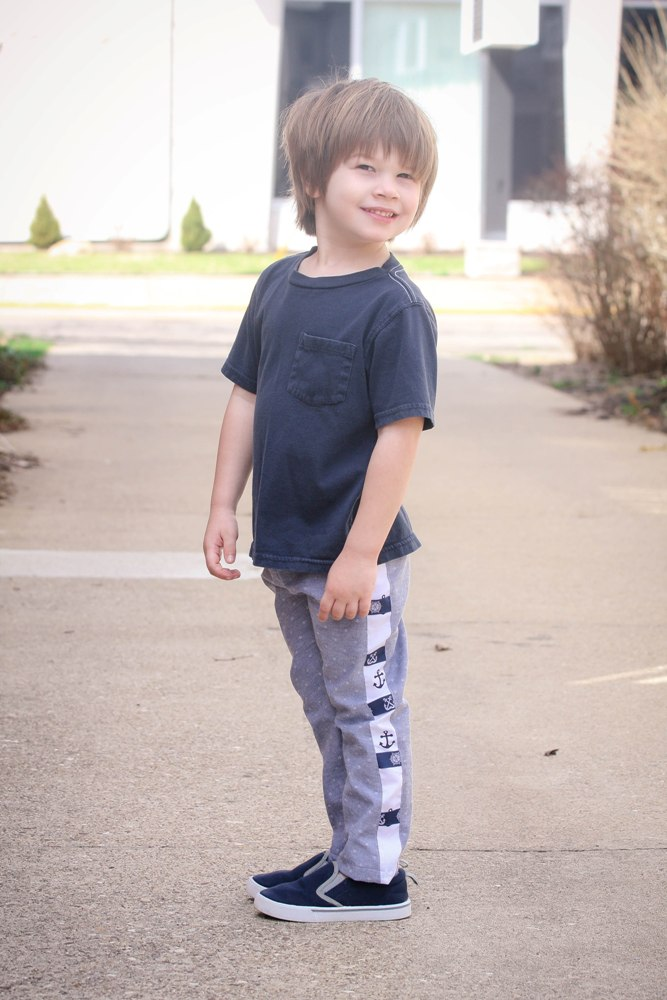 Declan's Side Panel Tab Pants PDF Pattern