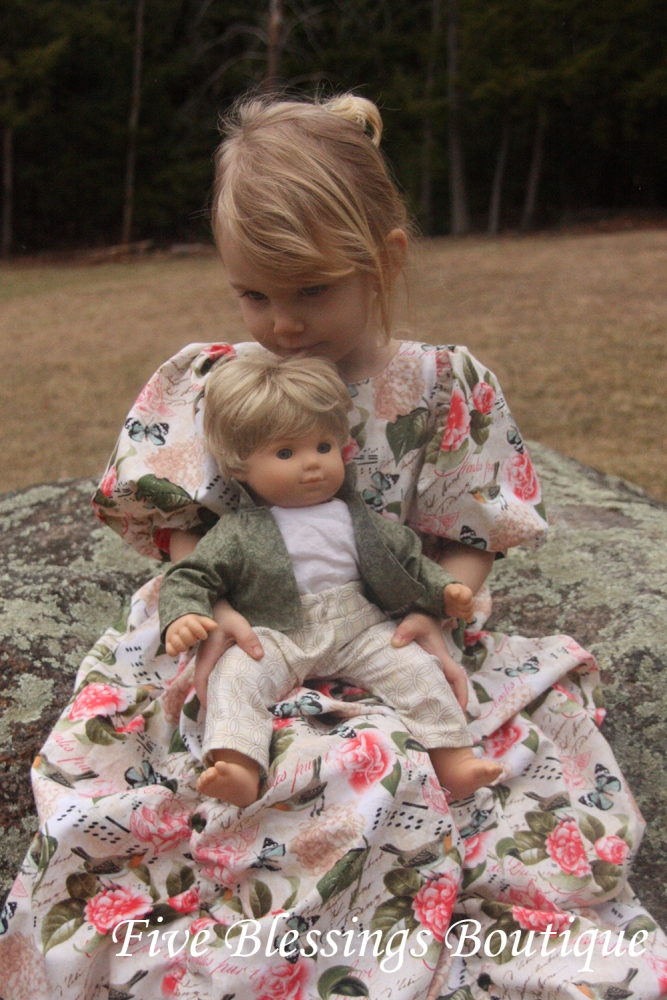 Charles' Prince Jacket and Patrick's Dress Pants Doll Sizes PDF Pattern