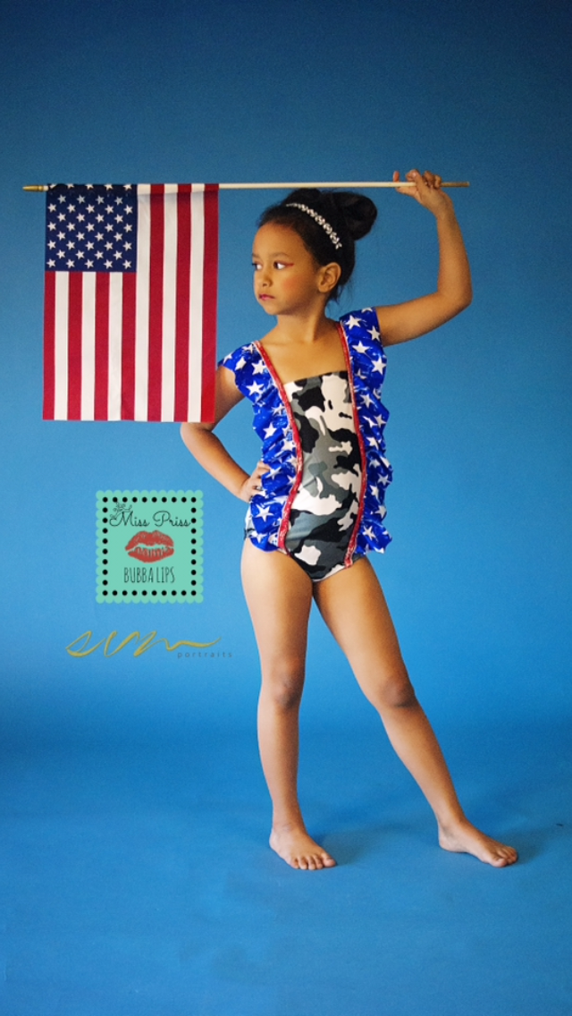 Quincy's Cute Swimsuit Sizes 2T to 8 Kids and Dolls PDF Pattern