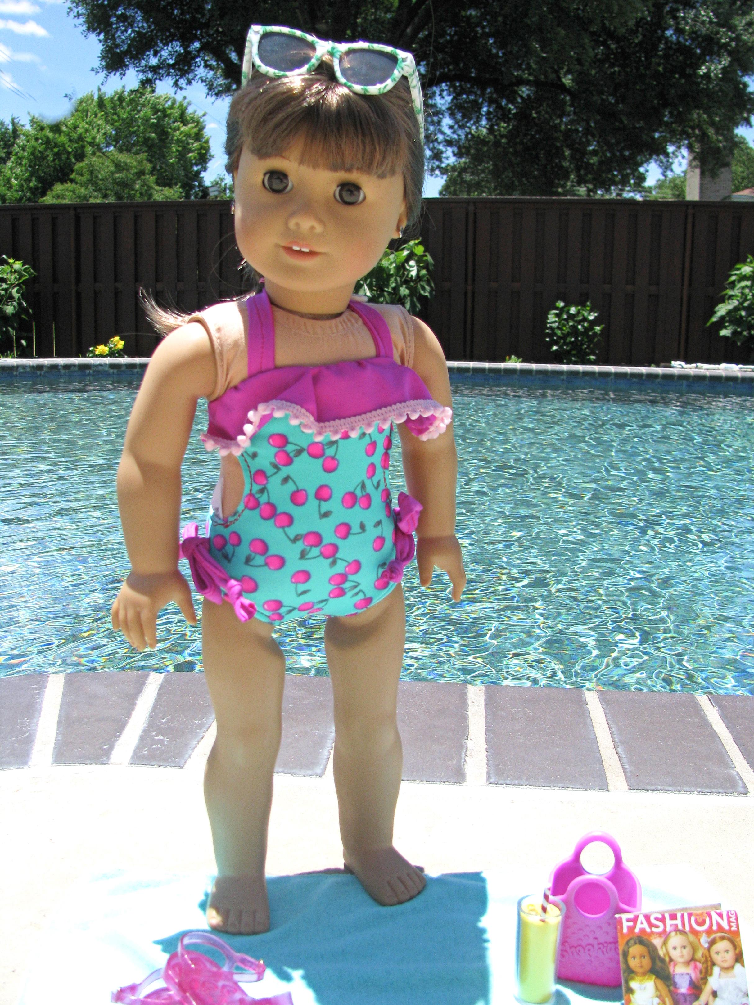 Uniqua's Monokini Sizes 2T to 15/16 Kids and Dolls PDF Pattern