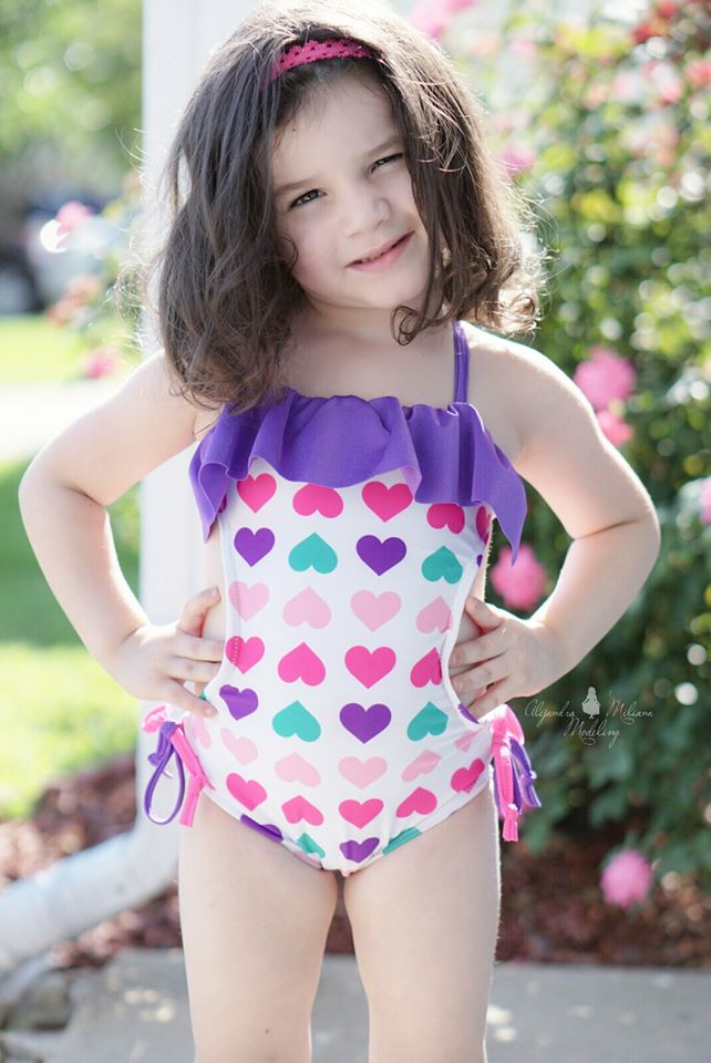 Uniqua's Monokini Sizes 2T to 15/16 Kids and Dolls PDF Pattern