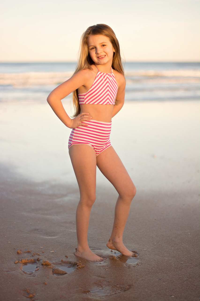 Olive's Old Fashioned Bikini Sizes 2T to 14 Kids PDF Pattern
