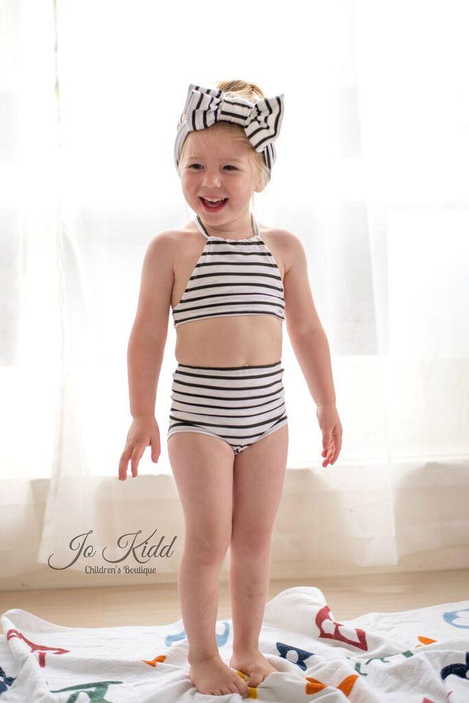 Olive's Old Fashioned Bikini Sizes NB to 14 Kids and Dolls PDF Pattern