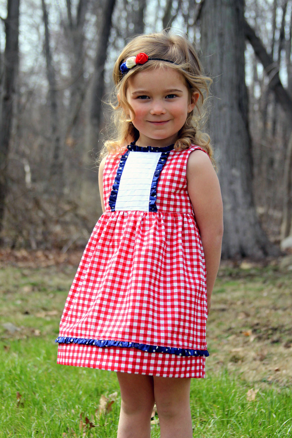 Paylin's Pleated Dress and Top Sizes NB to 8 Kids PDF Pattern