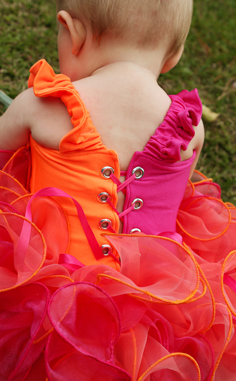 Gracelynn's Babies Colorblock Pageant Bodice PDF Pattern