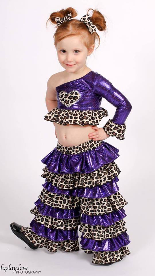 Phoenix's Pageant Crop Top PDF Pattern