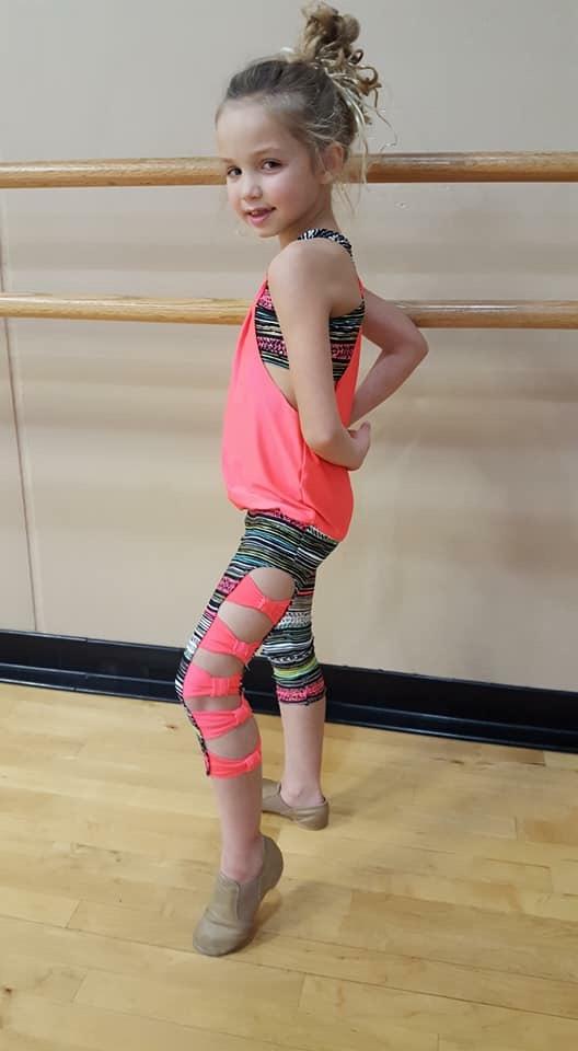 Barbie's Barre Leggings Sizes 2T to 14 Kids PDF Pattern