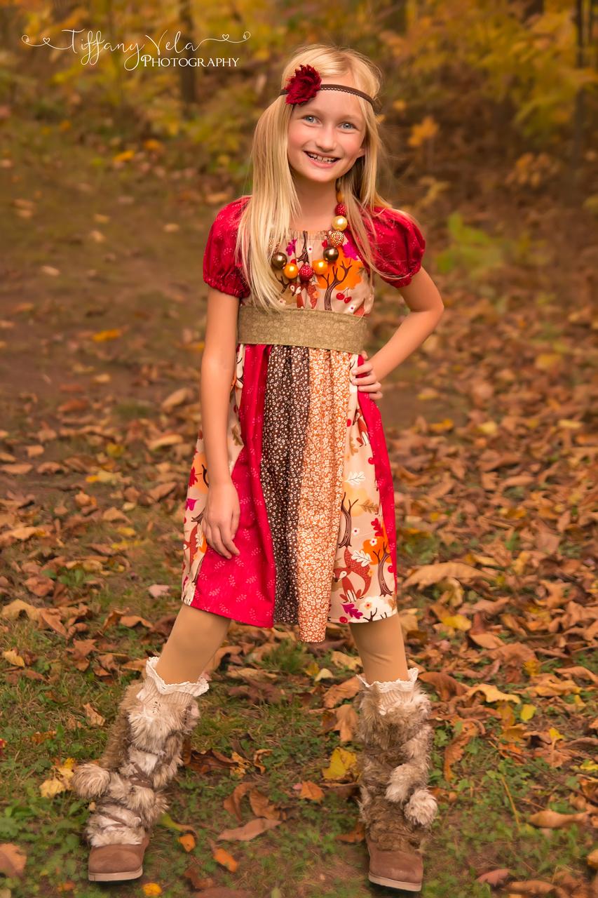Jewel's Stripwork Dress Sizes NB to 8 Kids and Dolls PDF Pattern