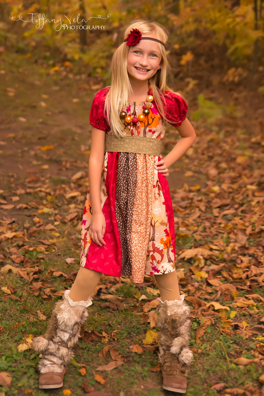 Jewel's Stripwork Dress Sizes NB to 8 Kids and Dolls PDF Pattern