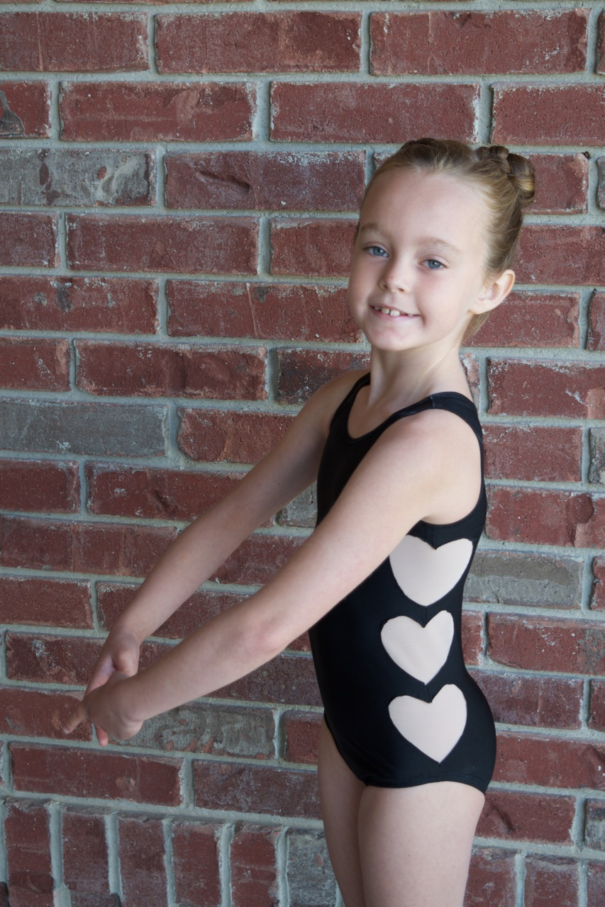 April's XOXO Leotard Sizes 2T to 14 Kids PDF Pattern