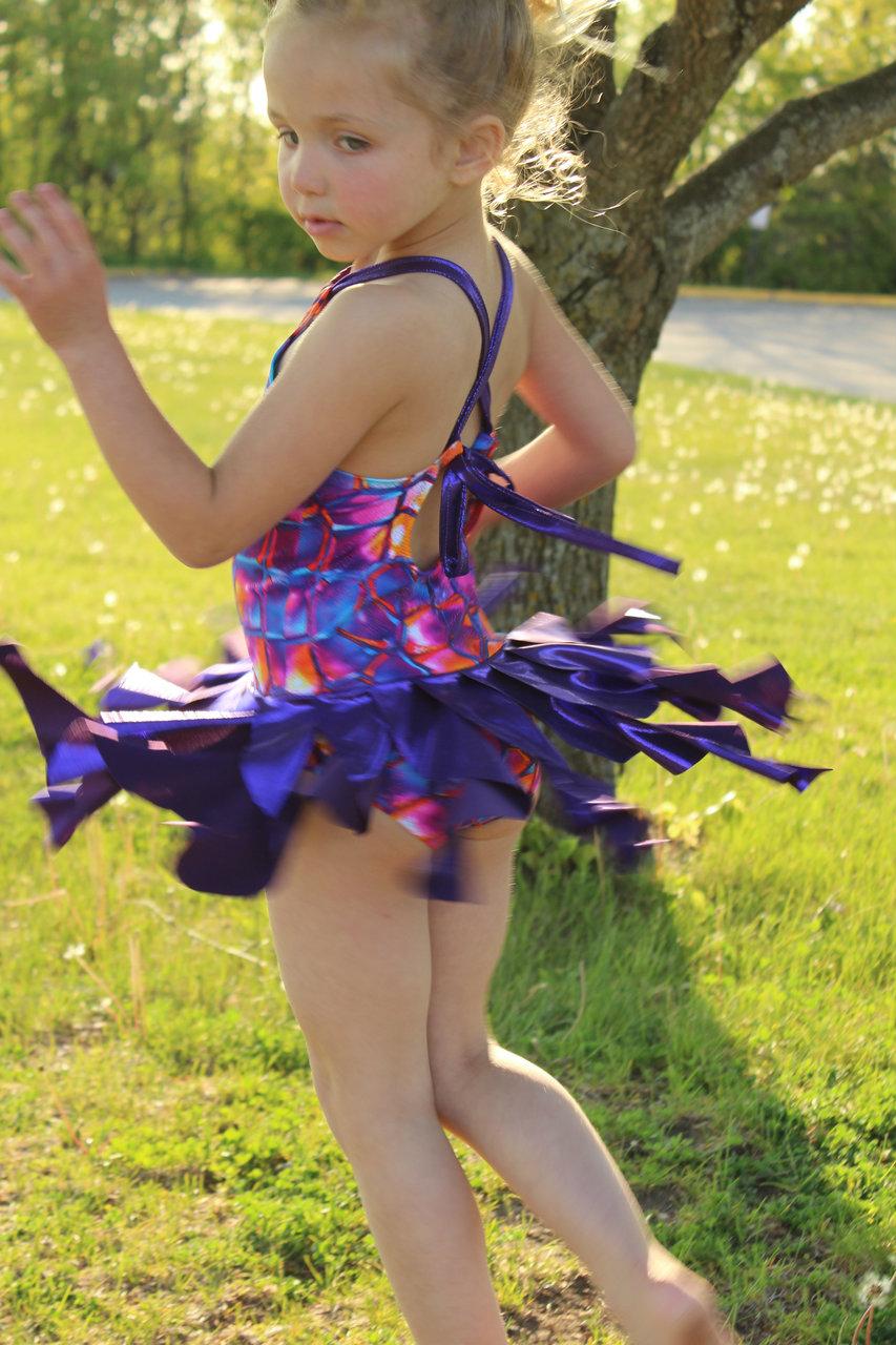 Leilani's Lyrical Costume Sizes 2T to 14 Kids PDF Pattern