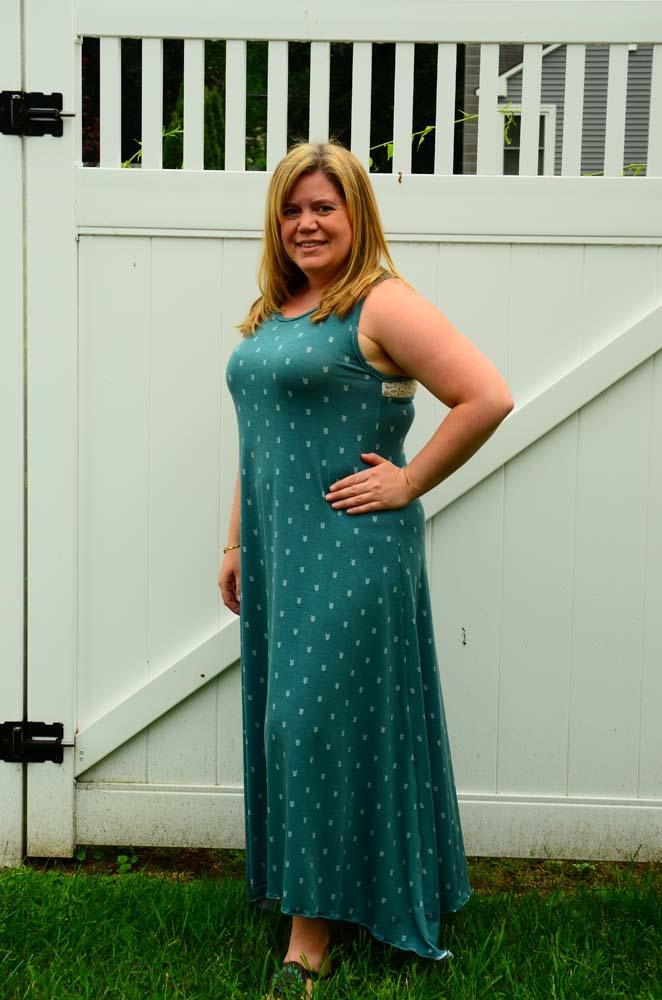 Davina's Racerback Tank Top, Dress, and Maxi Sizes XXS to 5X Adults PDF Pattern