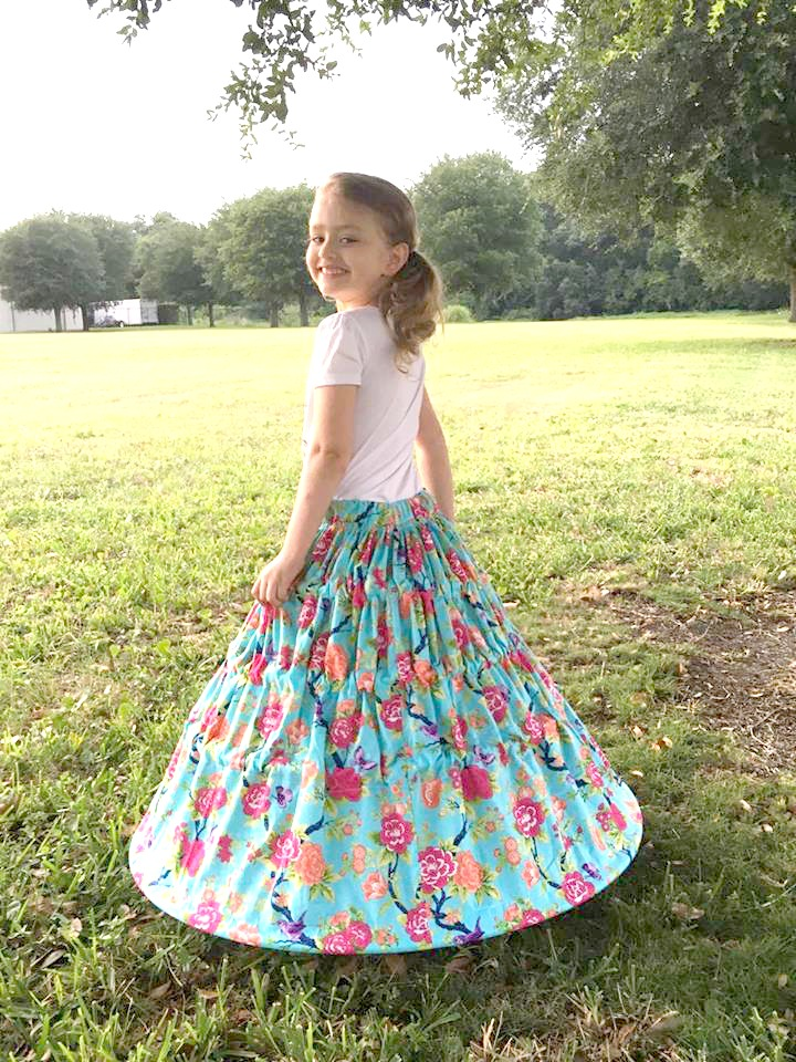 Henley's Hoop Skirt Sizes 6/12m to 8 Kids PDF Pattern