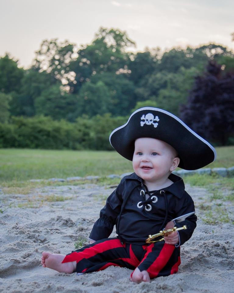 Merrick's Prince & Pirate Shirt Sizes NB to 14 Kids PDF Pattern