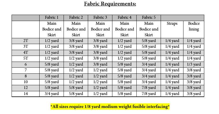 Lilou's Tiered Dress Sizes 2T to 14 Kids PDF Pattern