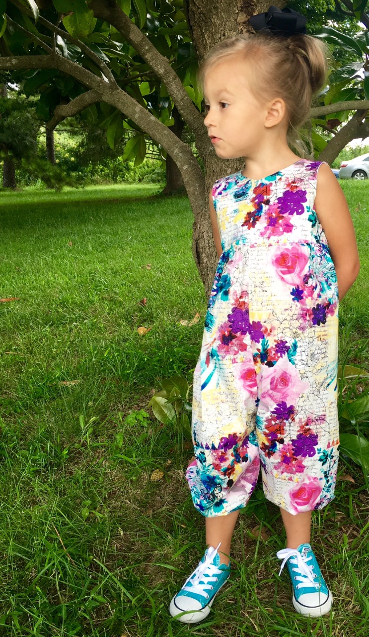 Hiley's Romper Sizes NB to 8 Kids PDF Pattern