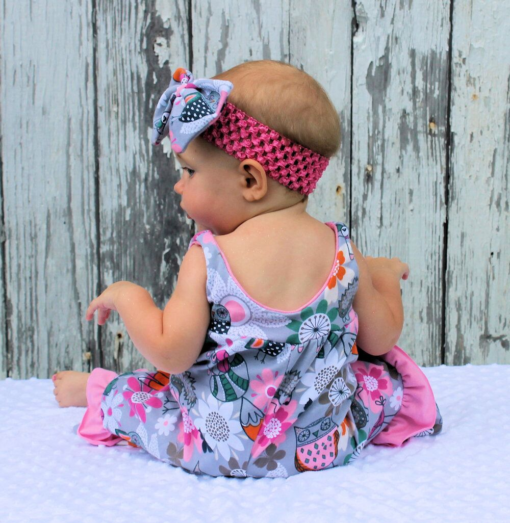 Sarah's Romper Sizes NB to 18/24m Babies PDF Pattern