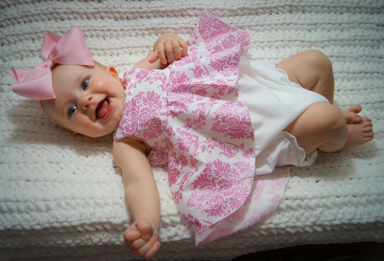 Halle's Romper Sizes NB to 18/24m Babies PDF Pattern