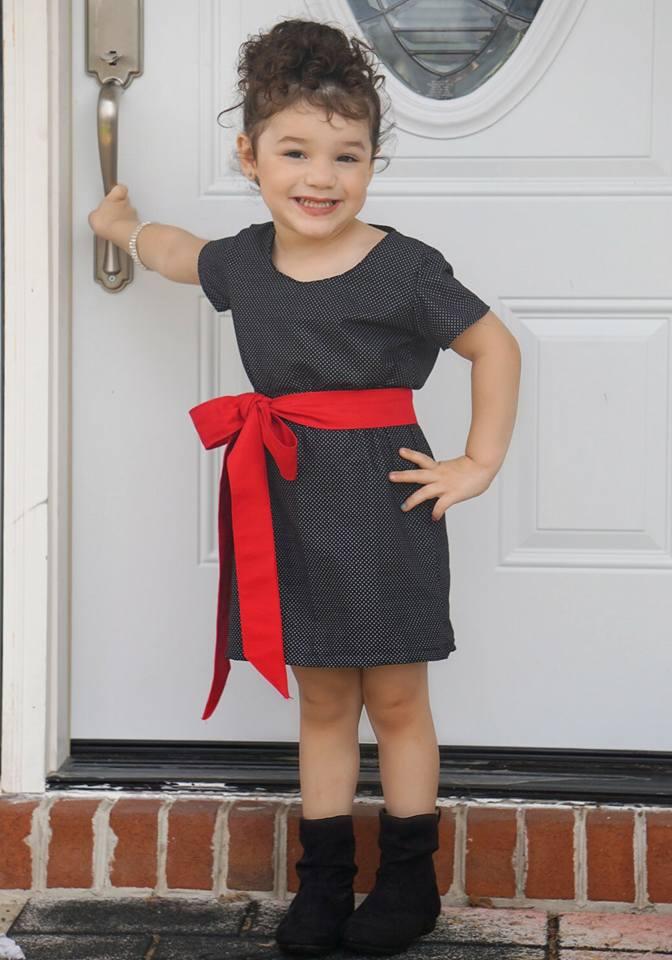 Kristi's Multi-Sleeve Dress Sizes 2T to 14 Kids PDF Pattern