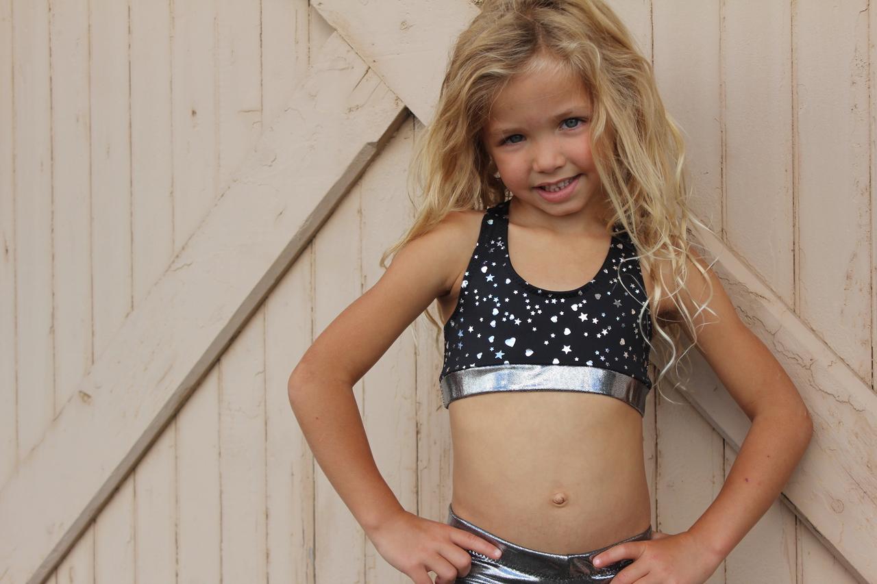 Jennifer's Jazz Top Sizes 2T to 14 Kids PDF Pattern