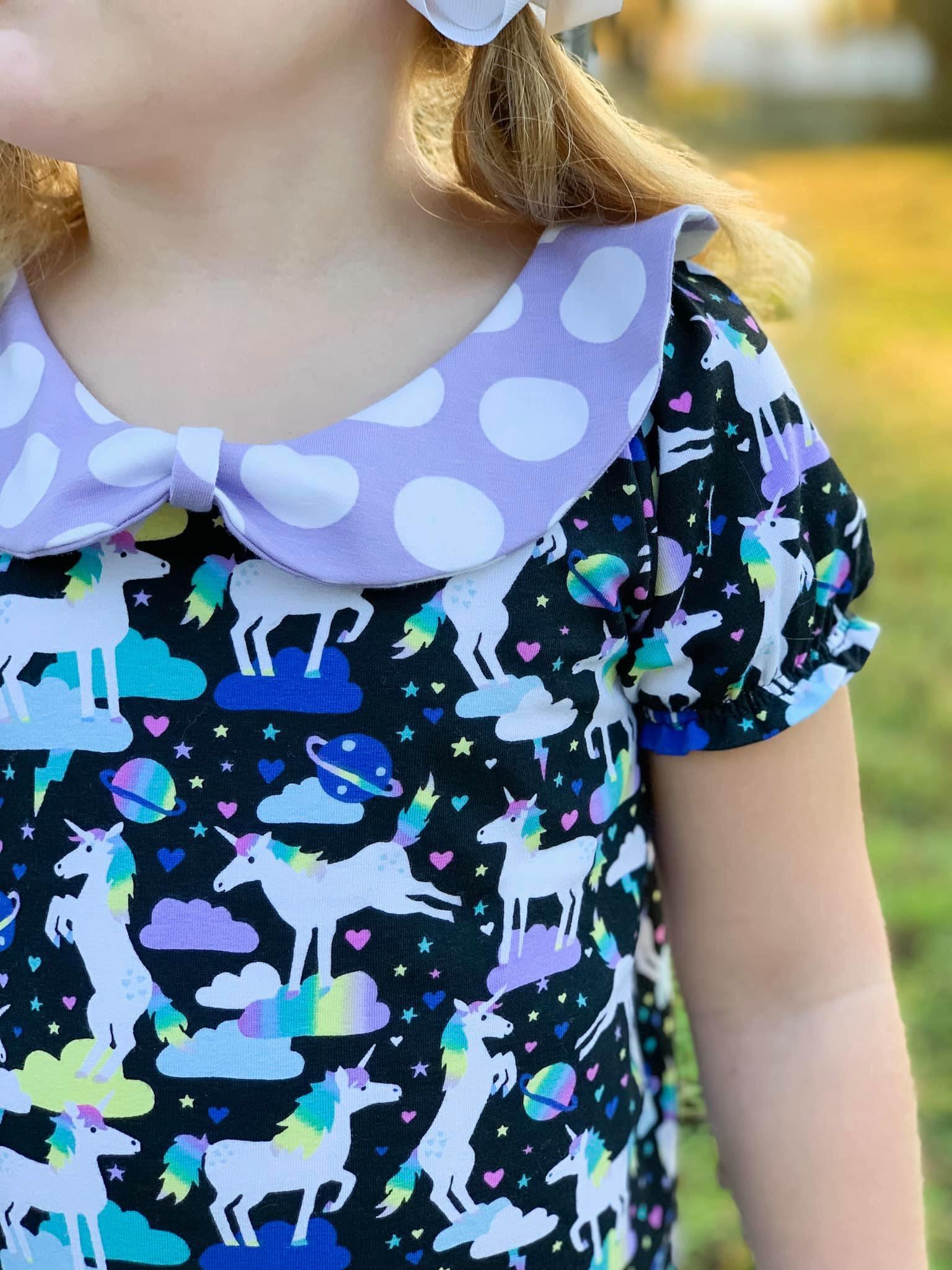 Taryn's Timeless T-Shirt, Tunic, and Dress Sizes 2T to 14 Kids PDF Pattern