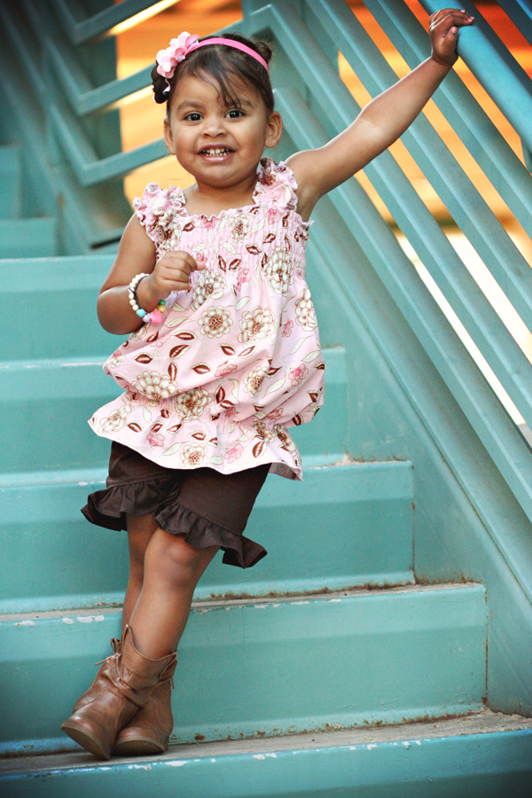 Layne's Ruffle Shorts Sizes NB to 15/16 Kids and Dolls PDF Pattern