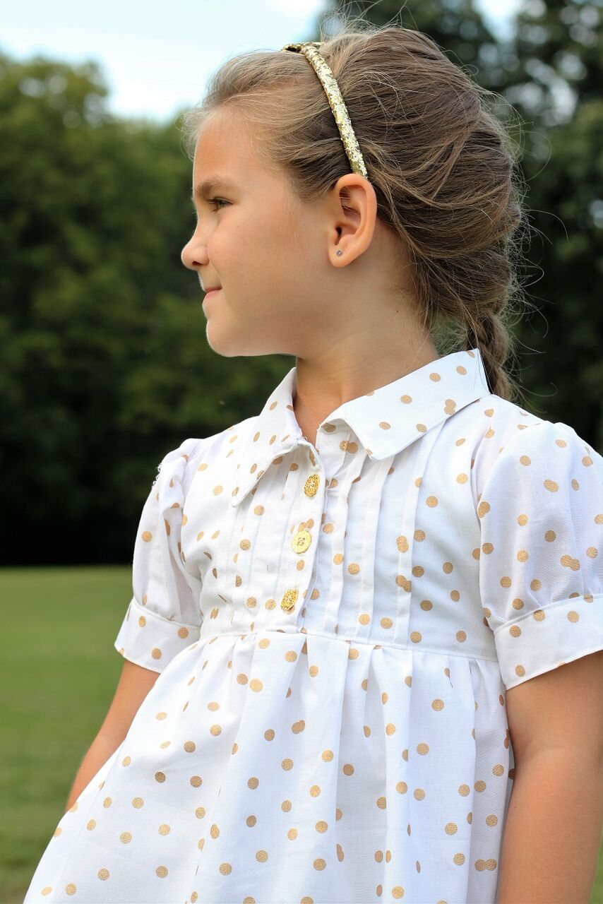 Livy's Pleated Top Sizes 2T to 14 Kids PDF Pattern