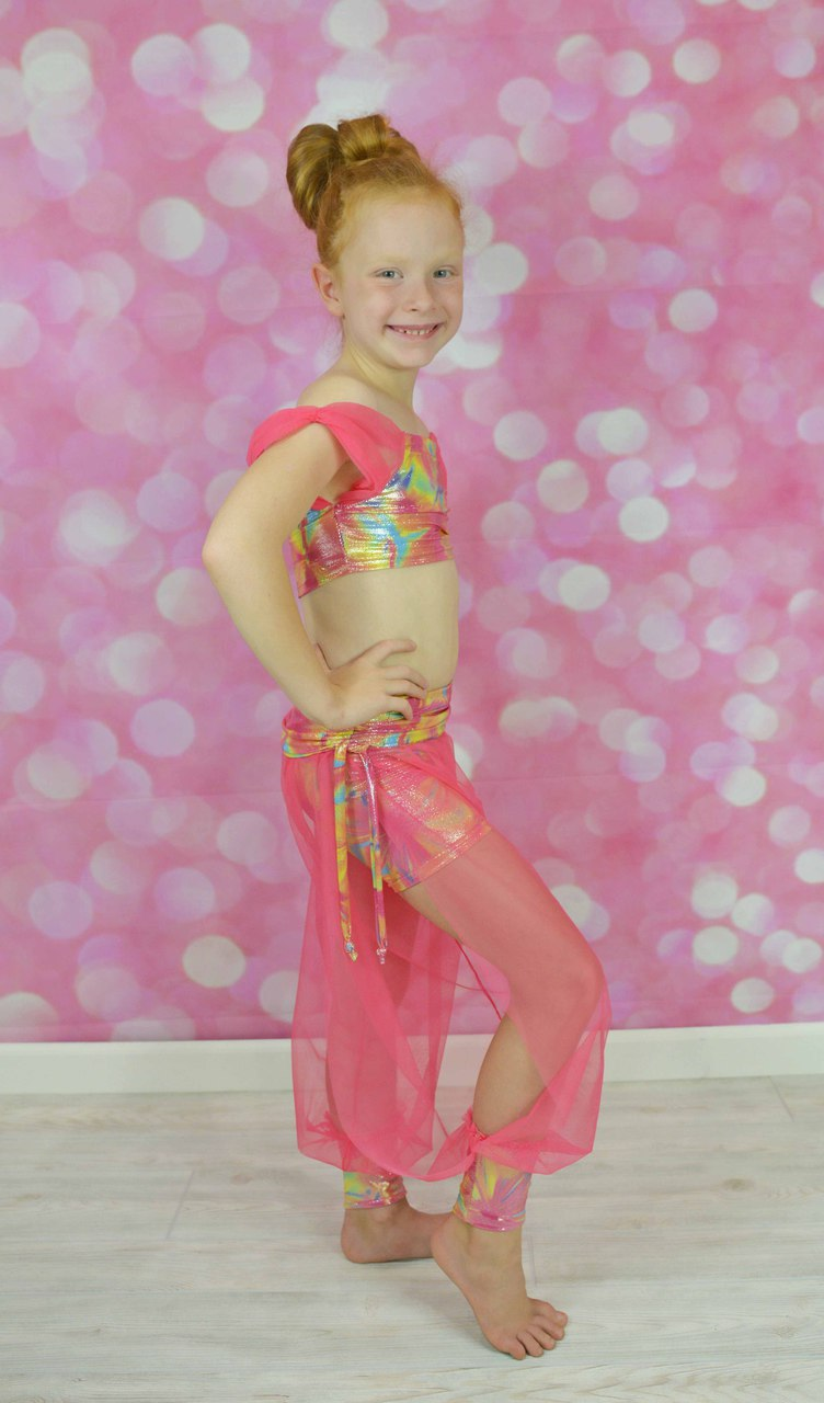 Nellie's Belly Dancing Pants Sizes 2T to 14 Kids PDF Pattern