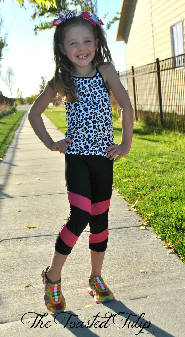 Electra's Active Leggings Sizes 2T to 14 Kids PDF Pattern