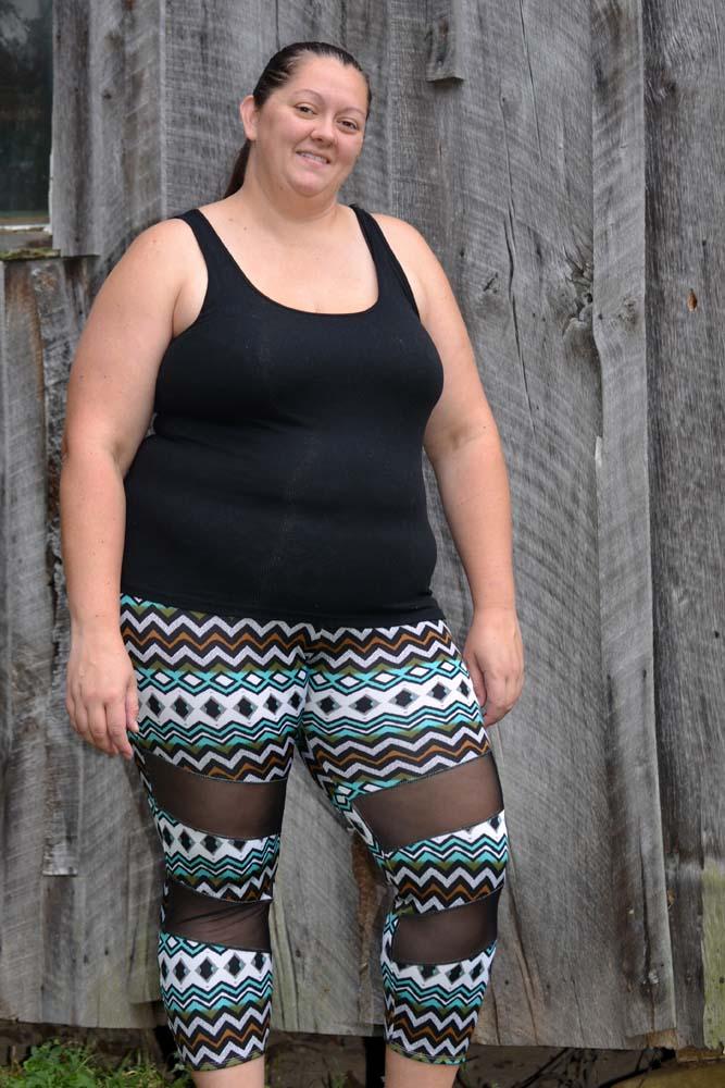 Electra's Active Leggings Sizes XXS to 4X Adults PDF Pattern