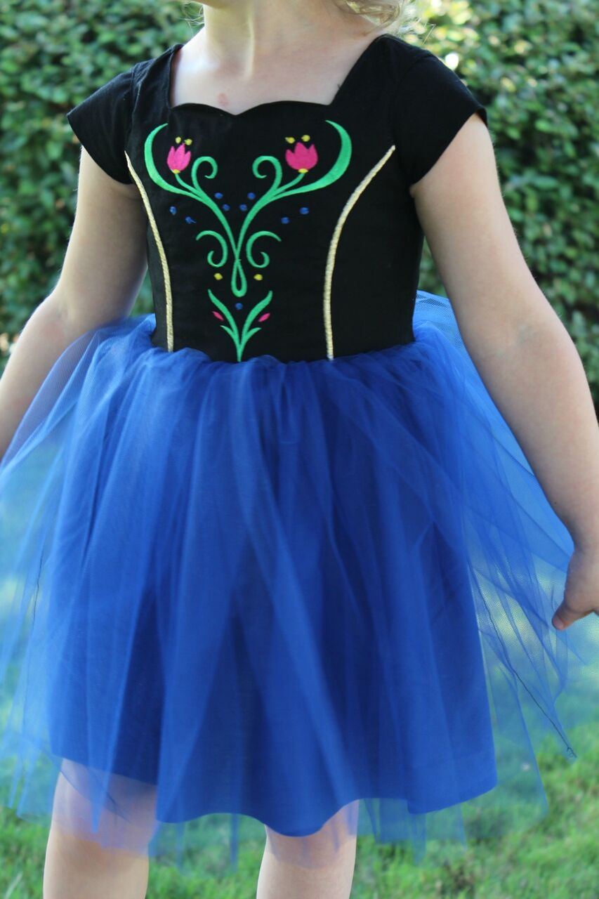 Pamela's Princess Dress Sizes 2T to 14 Kids PDF Pattern
