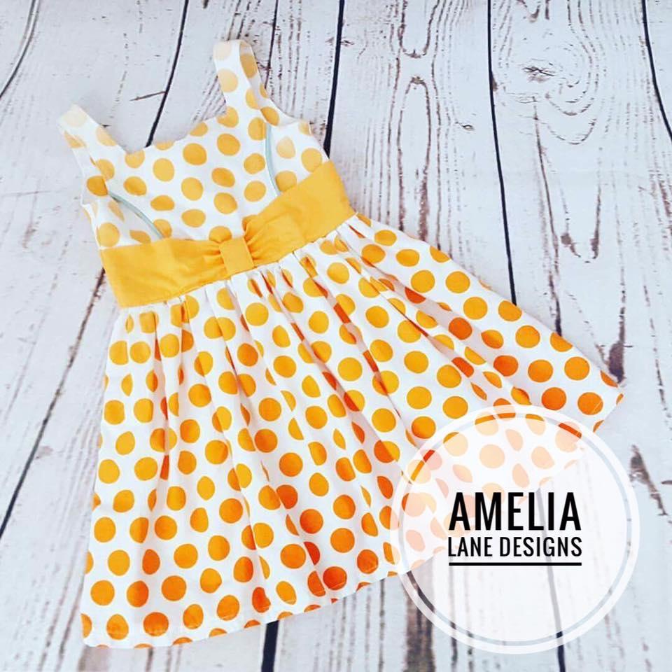 Pamela's Princess Dress Sizes 2T to 14 Kids PDF Pattern