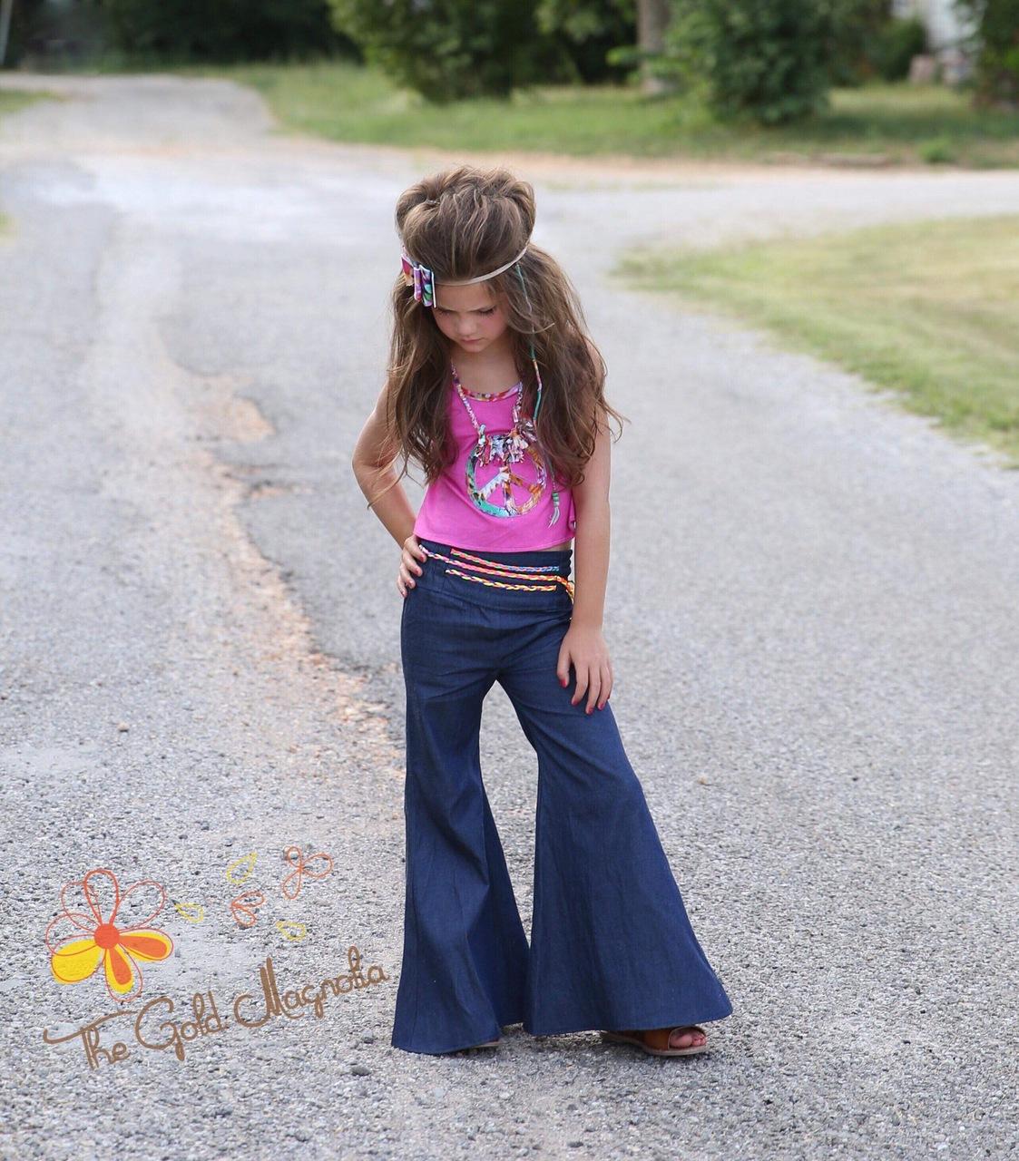 Jolene's Bell Bottoms Sizes 2T to 14 Kids PDF Pattern