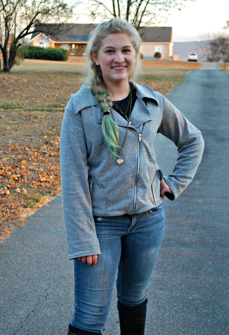 Jessie's Moto Jacket and Vest Sizes XXS to 3X Adults PDF Pattern