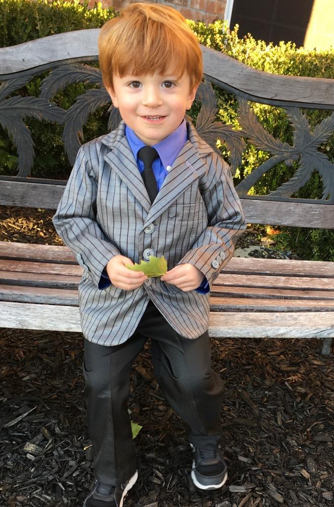 Logan's Blazer Sizes NB to 14 Kids PDF Pattern