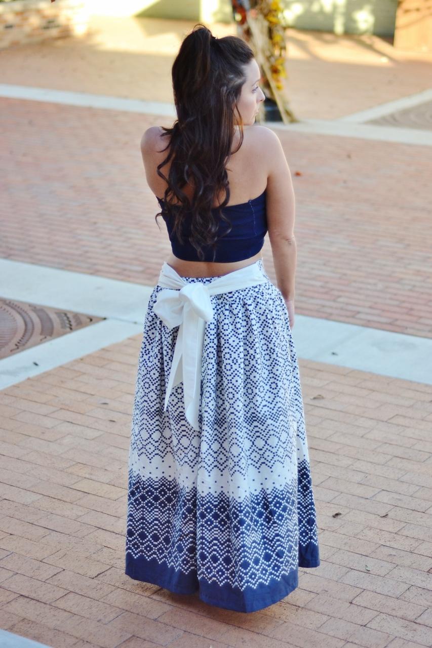 Faelynn's Floor Length Skirt Sizes XXS to 4X Adults PDF Pattern