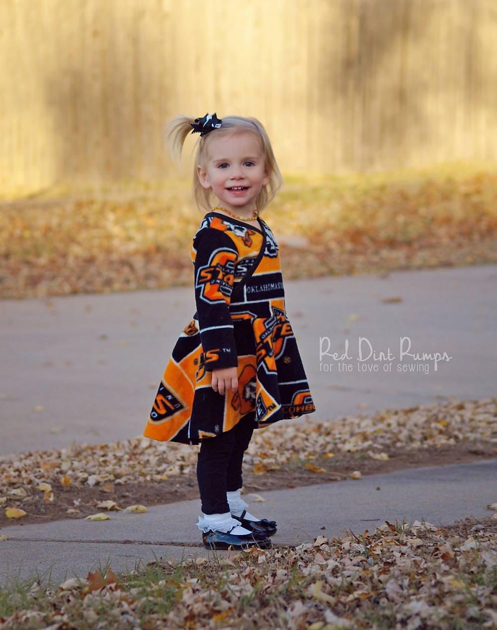 Mattia's Asymmetrical Circle Dress and Tunic Sizes NB to 14 Kids and Dolls PDF Pattern